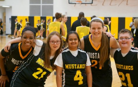 """Special Olympics and Girls' Varsity Basketball help """"Pack the Stands"""""""