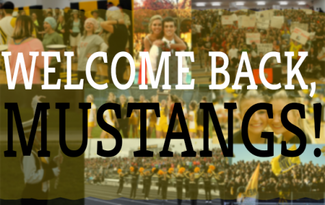 Welcome back, Mustangs!