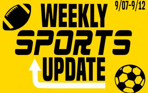 Weekly Sports Update: 9/07-9/12
