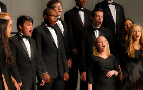 Choir foreshadows successful year through first concert