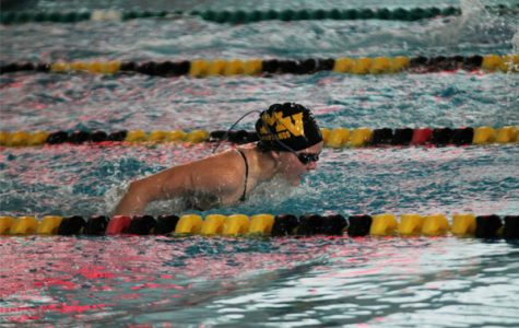 Girls' swim excels in relay events as state tournament nears