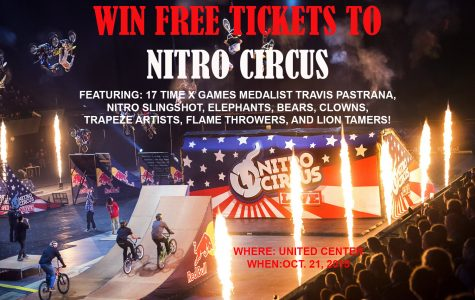 Win FREE tickets to Nitro Circus! *Closed*