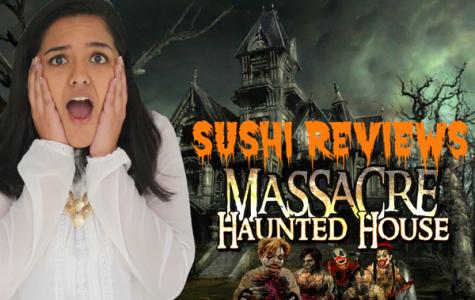 Sushi survives the Massacre Haunted House