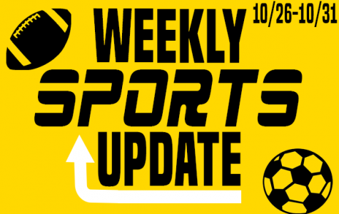 Weekly Sports Update: 10/26-10/31