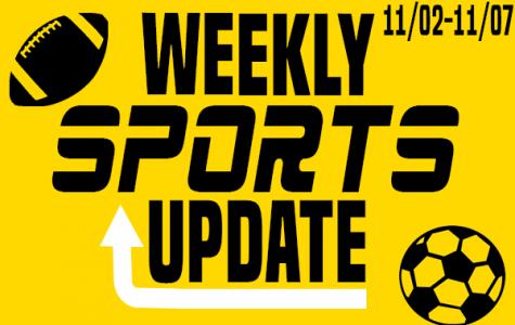 Weekly Sports Update: 11/02-11/07