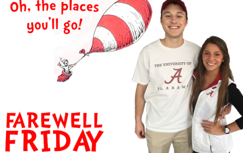 Farewell Friday: Nick Baker and Danielle Schmitt, University of Alabama