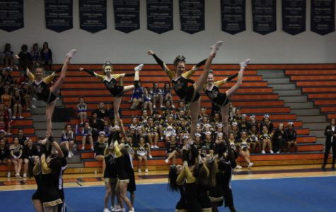 Cheer team places second at DVC championship