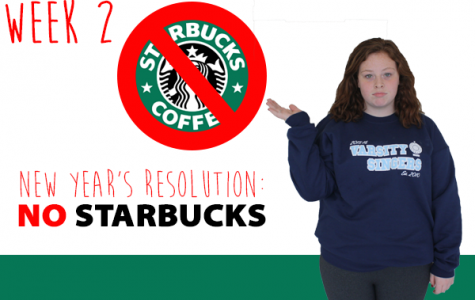 Week 2: Kiera kicks coffee for New Year's resolution