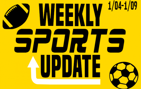 Weekly Sports Update: 1/04-1/09