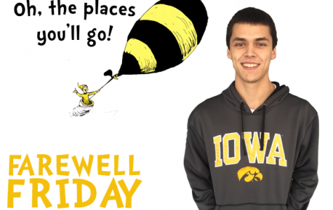 Farewell Friday: Danny Fox, University of Iowa