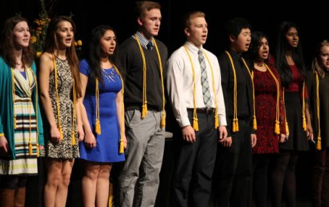 Seniors recognized for academic achievement at Indian Prairie Scholars
