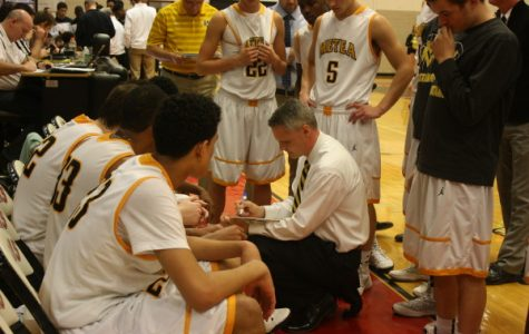 Boys' basketball captures opening 4A regional win