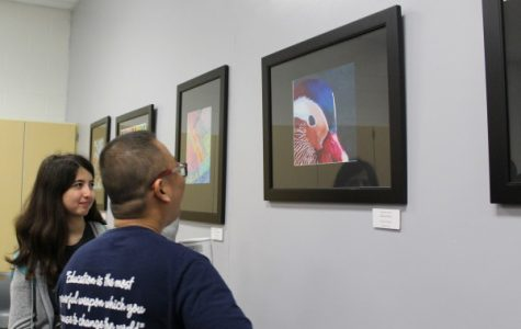 Dark Horse Gallery showcases student artists