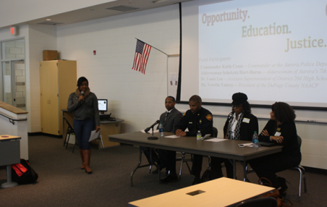 Panel discussion emphasizes equal opportunity for all races