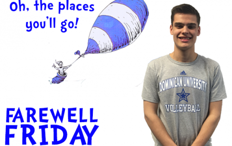 Farewell Friday: Alec McKinney, Dominican University