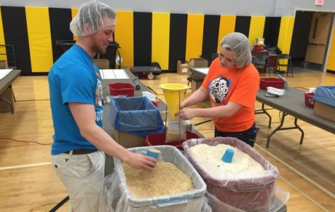 Students aid world hunger through Food Fight