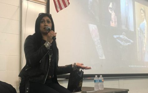 "Best-selling author of ""Ember in the Ashes"" speaks to students about adversity"