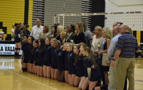 Girls' volleyball Senior Night brings back memories for seniors