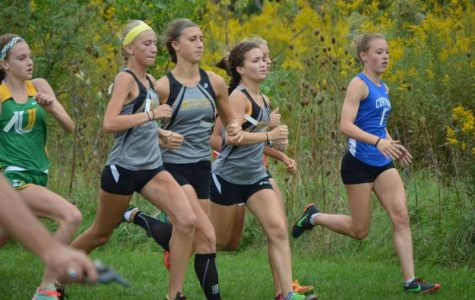 Girls' cross country brings in success and looks to build for the future