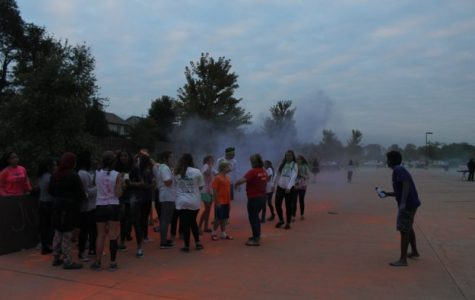 Chalk the Walk and Stardust Scavenger Hunt bring Mustangs together
