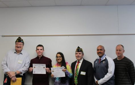 Students recognized on their responsibility to America in VFW essay competition