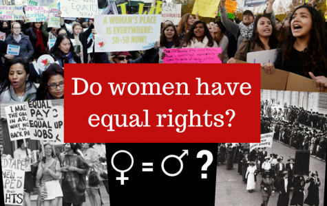 Women don't have equal rights in today's society