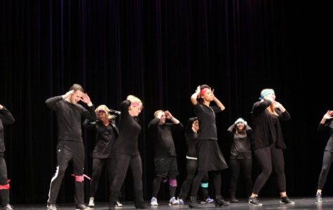 Staff and students express their individuality through the talent show