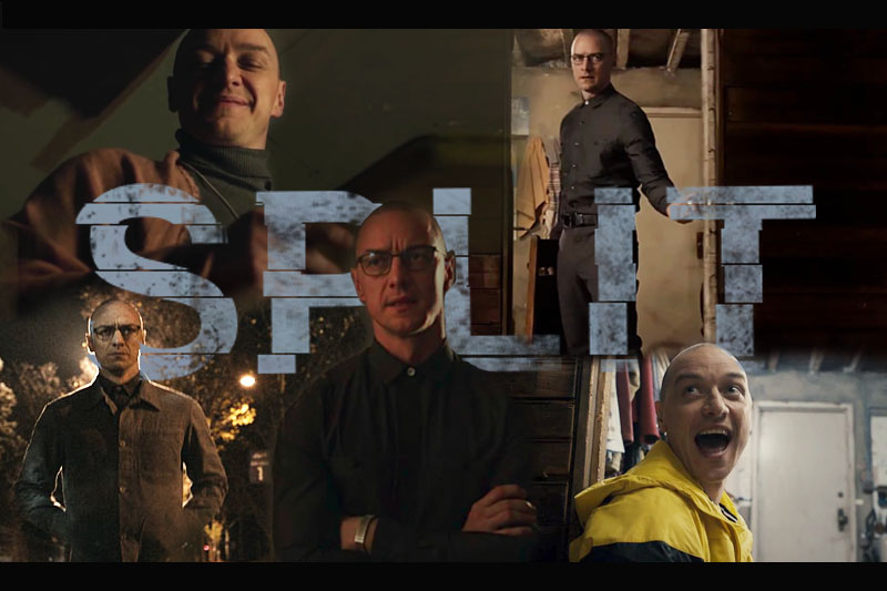 #Split is an amazing film and @jamesmcavoyrealdeal is a stupidly talented  actor! (
