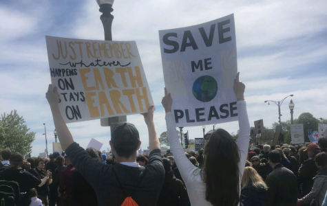 'Science facts, not alternative facts:' Students rally in the March for Science
