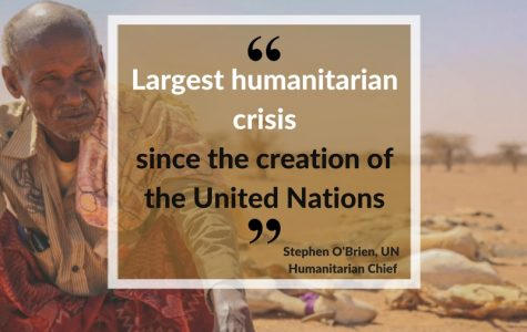 Looming famine prevalent in Somalia, South Sudan, Yemen, and Nigeria
