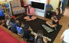 Amanda Brennan teaches kids in need the power of music