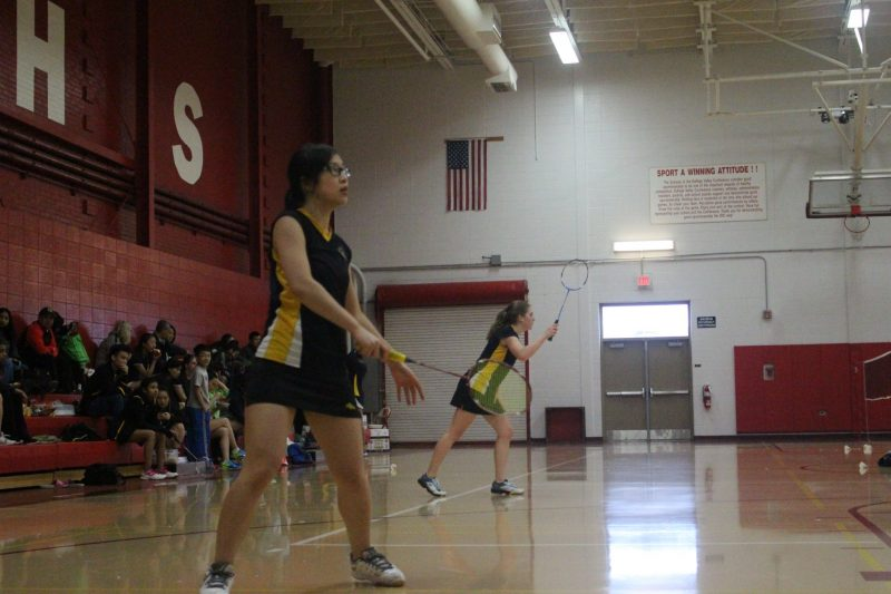 Girls' Badminton serves success at the DuPage Valley ...