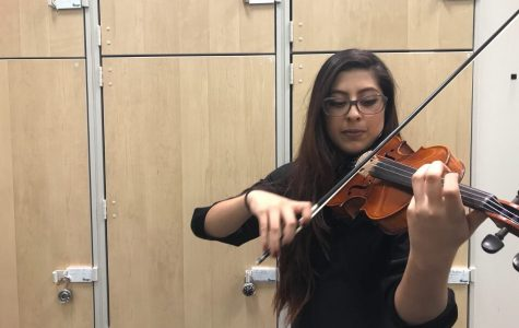 Violinist Carolina Aceves talent shines due to her work ethic