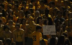 Gold out brings awareness for pediatric cancer among mustangs