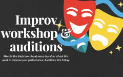 Improv team prepares for auditions on Friday
