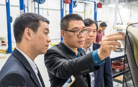 Chinese delegation gets a close look at Metea Valley