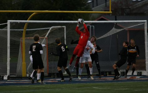 Boys' Soccer ends their season with a loss to Naperville North