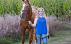 Kate Romanco's courage is shown through overcoming her adversities in horseback riding