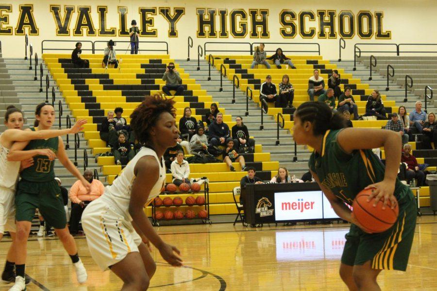 Girls' Basketball falls to rival Waubonsie Valley