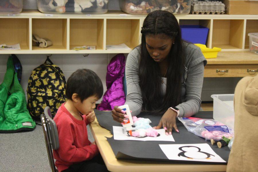 Mini Mustang Preschool creates teaching opportunities for high schoolers