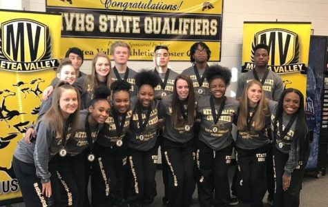 Cheer team caps off season with  fifth at IHSA State