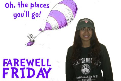 Farewell Friday: Alexa Jordan