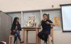 LMC holds author visit with actor Keegan Allen