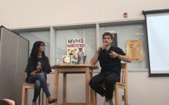 LMC holds author visit with actor Keegan Allen