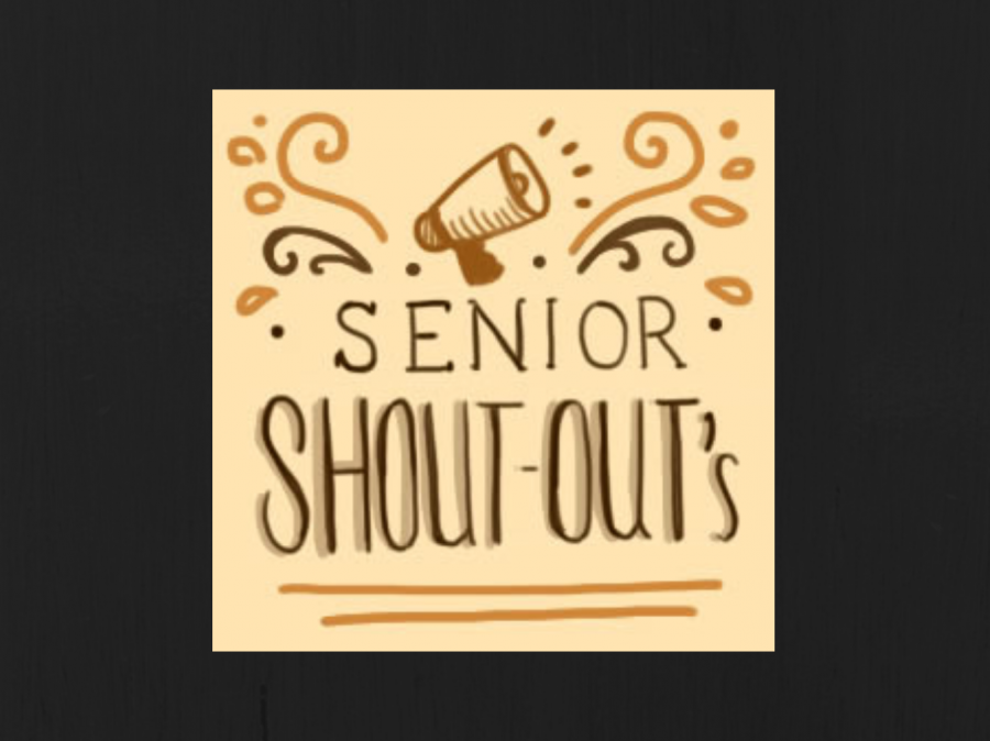 Submit your Senior Shoutouts