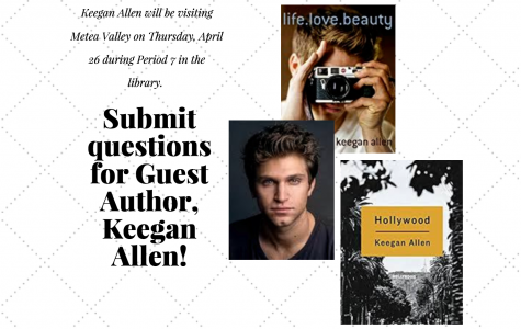 Submit your questions for Keegan Allen