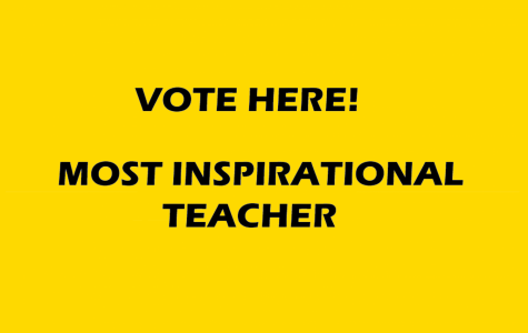 Vote for your most influential teacher