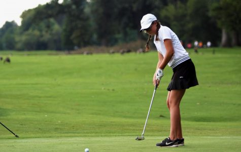 Girls' Golf values practice and improvement in the swing of new season