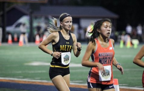 Cross Country shows off growth at unique nighttime meet