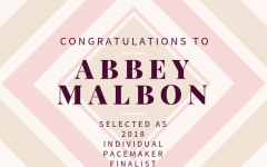 Abbey Malbon selected as a Pacemaker Finalist